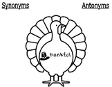 Thankful Synonyms and Antonyms