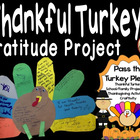 Thankful Turkey Social Studies Thanksgiving Craftivity
