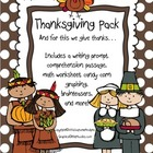 Thankful for Thanksgiving Pack