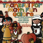 Thanks for Math Fun Galore-Seven Differentiated and Aligne