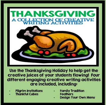 Thanksgiving: A Collection of Creative Writing Activities