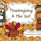 Thanksgiving: A Mini Unit