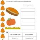 Thanksgiving Activities K-2 Math & Reading Printables & Wo