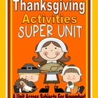 Thanksgiving Unit: Thanksgiving Activities, Thanksgiving C