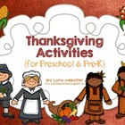 Thanksgiving Activities for Preschool and Pre-K