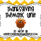 Thanksgiving: An Introductory Thematic Unit