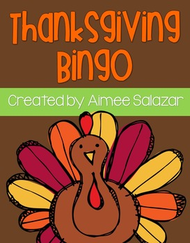Thanksgiving Bingo {FREEBIE}