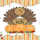 Thanksgiving Book-I am Thankful