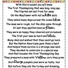 Thanksgiving Bracelet Poem