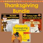 Thanksgiving Bundle {Grades 1-3}