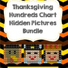 Thanksgiving Bundle Hundreds Chart Hidden Picture Sets
