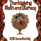 Thanksgiving Centers -- Math and Literacy