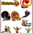 Thanksgiving Clip art {FREE}