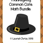 Thanksgiving Common Core Math Bundle