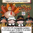 Thanksgiving Common Core Math Problems