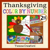 Thanksgiving Common Core Picture Math (second grade)  Colo