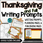 Thanksgiving Common Core Writing: Opinion, Informative, an