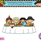 Thanksgiving Compare and Contrast Writing Activities