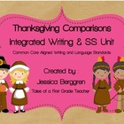 Thanksgiving Comparisons {Writing and S.S. Unit} Aligned t
