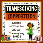 Composition Activities for Thanksgiving