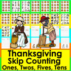 Thanksgiving Math: Thanksgiving Counting and Skip Counting