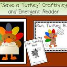 Thanksgiving Craftivity & Emergent Reader Pack