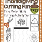 Thanksgiving Cutting Activity Set – Fine Motor Skills Development
