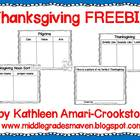 Thanksgiving Day FREEBIE