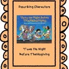 Thanksgiving-Describing Characters