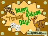 "Thanksgiving Dice Game (Happy ""Turkey""ahtzee Day!)"