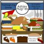 Thanksgiving Dinner {Graphics for Commercial Use}