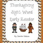 Thanksgiving Emergent Reader