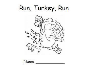 Thanksgiving Emergent Reader – Run, Turkey, Run