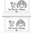 Thanksgiving Emergent Reader Treasures Kindergarten High F