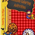 Thanksgiving Fall Autumn Coloring Activities (various math