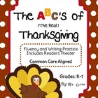 Thanksgiving Fluency, Writing & Readers Theater - Common C