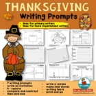 Thanksgiving Four Square Response Page - Main Idea and Details