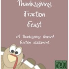 Thanksgiving Fractions Feast