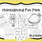 Thanksgiving Fun Pack- K-1