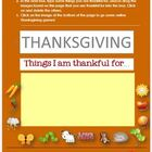 Thanksgiving Fun for Little Ones--MS Word & Internet Activ