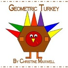 Thanksgiving Geometric Turkey