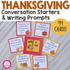 Thanksgiving Gratitude Questions, Prompts & Activities