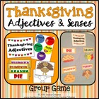 Thanksgiving Group Game, Bulletin Board & Writing Extensio