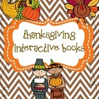 Thanksgiving Interactive Emergent Readers