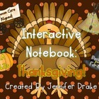 Thanksgiving Interactive Notebook Pack!  ELA, Math, Social