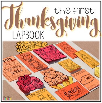 Thanksgiving Lapbook { with 12 foldables } Grades 2-5