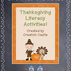 Thanksgiving Literacy Activities!