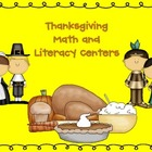 Thanksgiving Literacy Center