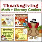 Thanksgiving: Literacy, Facts, &amp; Fun