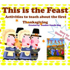 Thanksgiving Literature Activity- This is the Feast